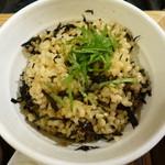 玄米食堂 ie - 2015.11 鉄分プラスひじきシソ玄米ご飯