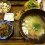 玄米食堂 ie - 2015.11 夜の定食