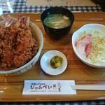 44770105 - 海老丼 竹(3本)1100円