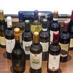trattoria il filo - 自然はにこだわったイタリアワインの数々