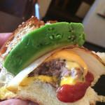 コーナーズグリル - 後半 自分でハンバーガー風に♪