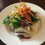 44774046 - サラダ  和風ドレッシングにマヨ                       島野菜美味