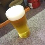 宝田水産 - 210円生ビール