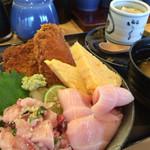 ことぶき寿司 - 期間限定 ぶり三昧丼