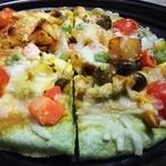 44776802 - シンシェフのまかないナンピザ(野菜) 648円