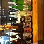 大阪食酒 リエカオ - ドリンク写真:大阪産の日本酒達