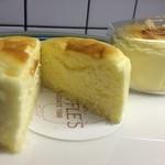 ペイストリー スナッフルス - チーズオムレット 割面