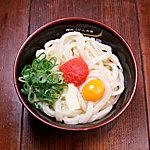 水道橋麺通団 - めんたま(明太釜卵うどん)