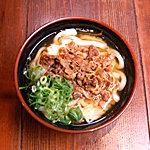 水道橋麺通団 - 肉うどん(肉うどん)