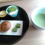 丹羽茶舗喫茶室 - 季節のプレート