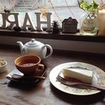 春陽 - アールグレーとゴルゴンゾーラのチーズケーキ