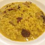イタリア田舎料理 ダンロ - 信州産ポルチーニのリゾット