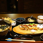 一張羅 - 穴子寿司御前 1,500円