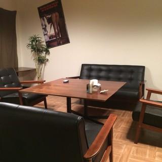 2階は完全個室のゆったり寛げる癒し空間◎