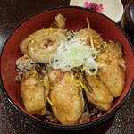 浜菜坊 - 牡蠣かば丼