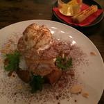 キリストンカフェ東京 - アップルパイ