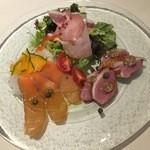 ボルカノ - 料理写真:おすすめ!前菜3種盛り