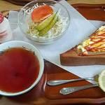 凛 - 料理写真:エッグトースト