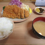 とんかつ高田 - ロースカツ定食