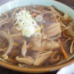 壱乃蔵 - きのこ汁そば(800円)