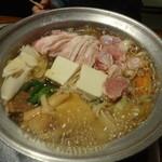 相撲茶屋 ちゃんこ江戸沢 - 大関ちゃんこ鍋