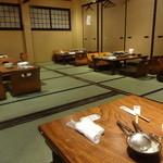 相撲茶屋 ちゃんこ江戸沢 - お座敷
