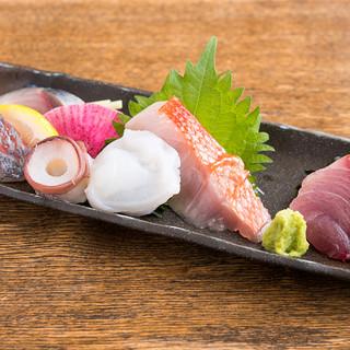 【新鮮魚介】全国各地の旬の味覚を贅沢に食す!