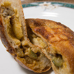 ブーランジェリー セイジアサクラ - チーズカレー断面
