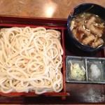 甚五郎 - イベリコ豚の肉汁うどん1000円