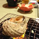 堂ヶ島温泉ホテル - サザエ壺焼き