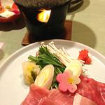 堂ヶ島温泉ホテル - 牛しゃぶしゃぶ