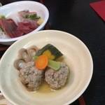 いわし料理 すゞ太郎 - イワシつみれと野菜煮