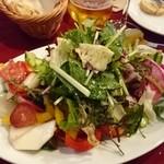 グスタヴォ - 彩り豊かな畑のサラダ 1,280円