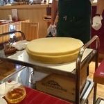 グスタヴォ - 名物ロディジャーノチーズのラスパドゥーラ 980円