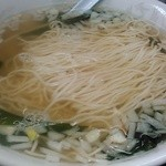花水ラオシャン田村 - 料理写真:ワカメタンメンです。