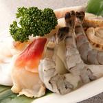 海鮮焼き(エビ、イカ、ホタテetc)
