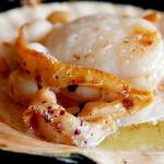炙屋 北海道 - 料理写真:ホタテのバター焼き