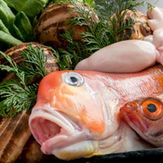 店主自ら、全国各地の旬魚介やお野菜を仕入れる