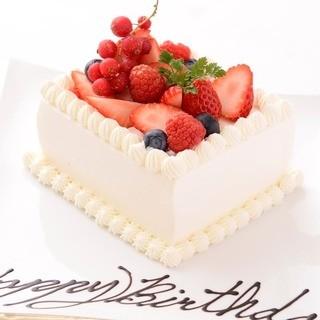 【誕生日特典】ホールケーキ差し替え無料