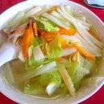 中華飯店 八宝園 - 料理写真:野菜ラーメン