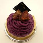 イソザキ - 紫芋のモンブラン(\380-)