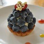 メールペール - 料理写真:ブルーベリータルト