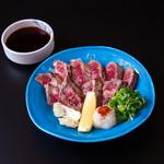 盃花羅亭 - 牛肉たたき