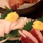 ふく手羽 - 熊本産馬刺し美味しいよ〜♪