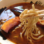 むつみ食堂 - ハルユタカの麺、旨し