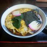 東島屋 - たまごとじうどん(750円)