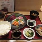 楷菜味 わたなべ - お刺身定食