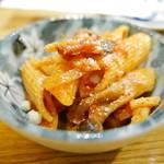 酒・肴 タナゴコロ - お通し(ペンネ)