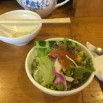 ぼんじゅうる - 2個目のサラダ!笑
