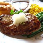カフェ&レストラン メリーポピンズ - 和風ハンバーグは絶品!